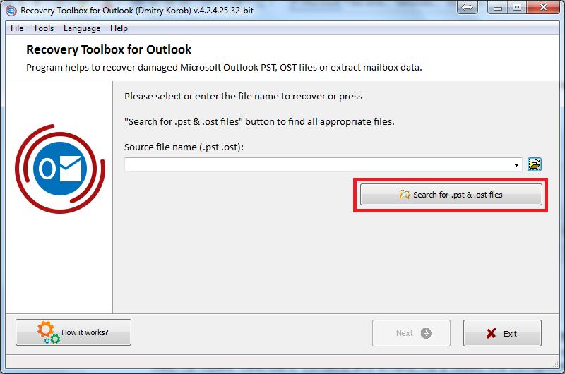Nola berreskuratu datuen ustelkeria arazoak Microsoft Outlook-en 3