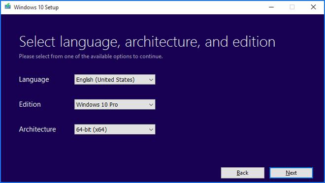 Windows  10 Aukerak