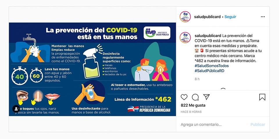 Kontuak kontu Instagram koronavirusarekin eguneratuta egoteko, albiste faltsuetan erori gabe 2