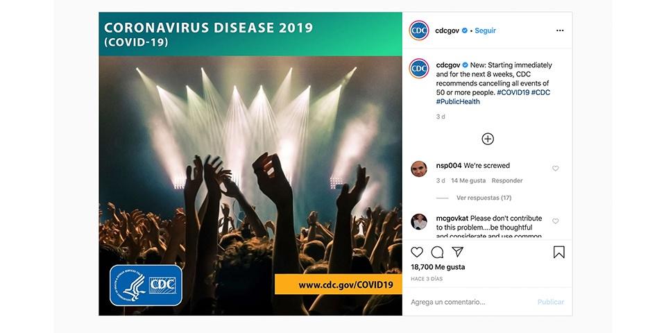 Kontuak kontu Instagram koronavirusarekin eguneratuta egoteko, albiste faltsuetan erori gabe 3
