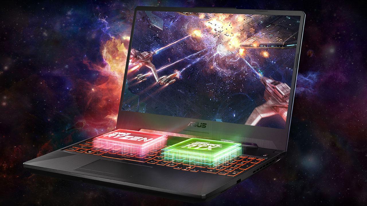 Jokalari aukerarik onena - ASUS TUF Gaming A15 ordenagailu eramangarria NVIDIA GeForce RTX 2060 eta Ryzenekin 7 4800H