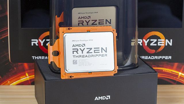 AMD Ryzen Threadripper 3970X eta 3960X - goiko apalategian eskaera berria