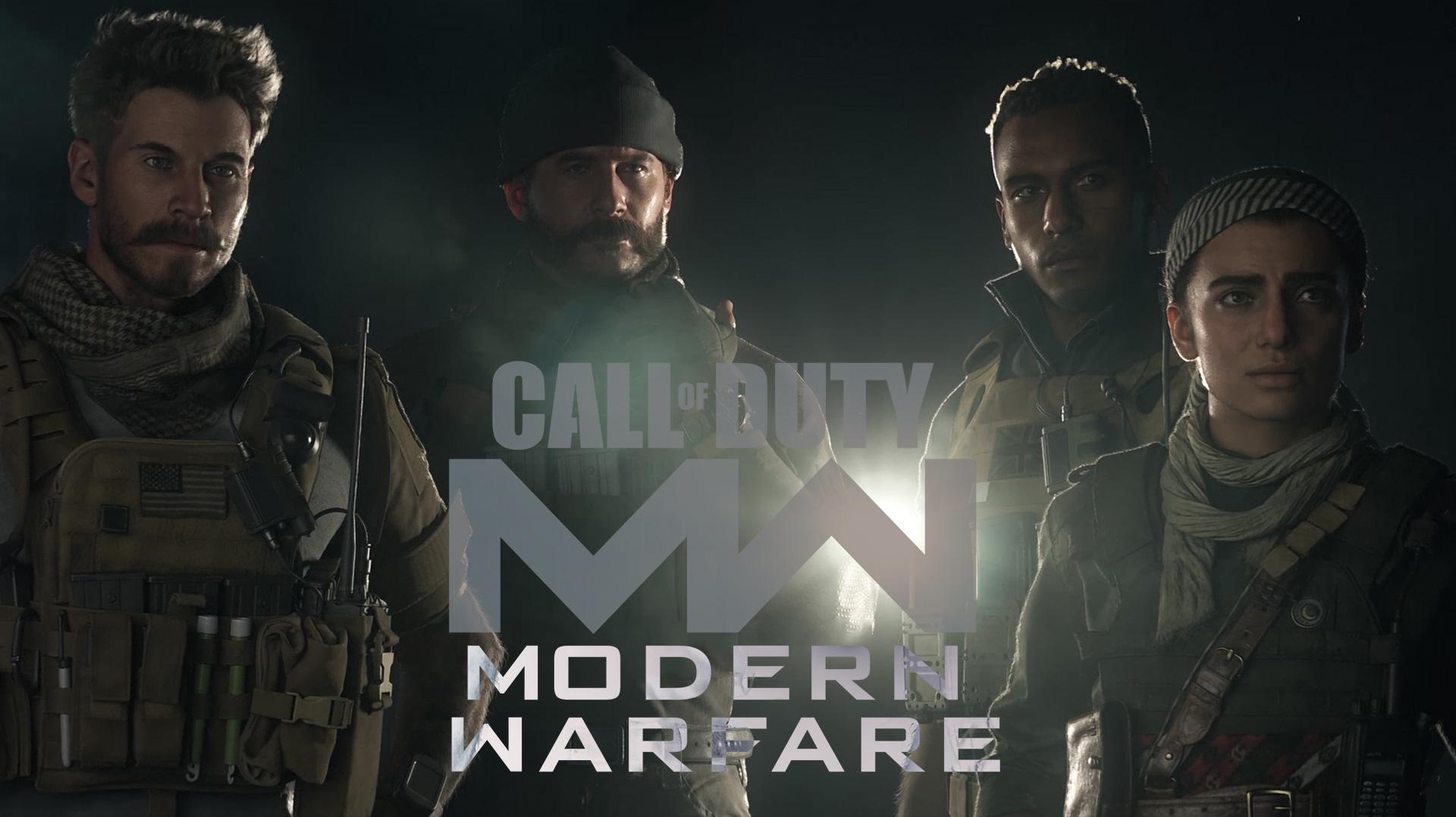 Call of Duty: Modern Warfare - grafikoen eta prozesadoreen errendimenduaren proba