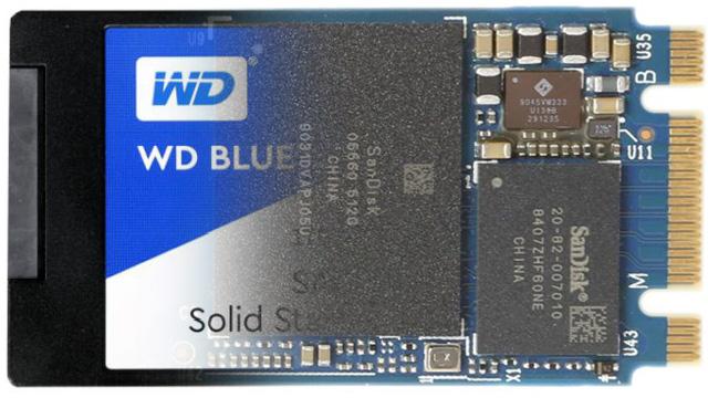 WD Blue SN500 500 GB - SATA III amaierarako beste trailer bat