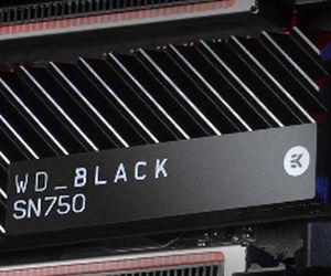WD Black SN750 1 TB: SSD proba eraginkorra eta berotzeko hondoratu gabe