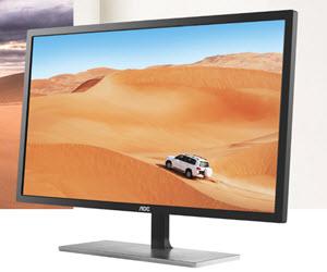 """AOC Q3279VWFD8 - 31,5 hazbeteko, IPS, 75 Hz.  """"Wow"""" efektua?  PLN 900 baino gutxiagoko monitore handi baten proba"""