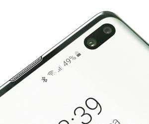 Samsung Galaxy S10 + - arrakasta lortzeko bideratutako bandera