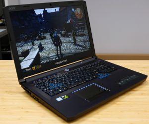Acer Predator Helios 500 - Core i9 ordenagailu eramangarri indartsu baten proba