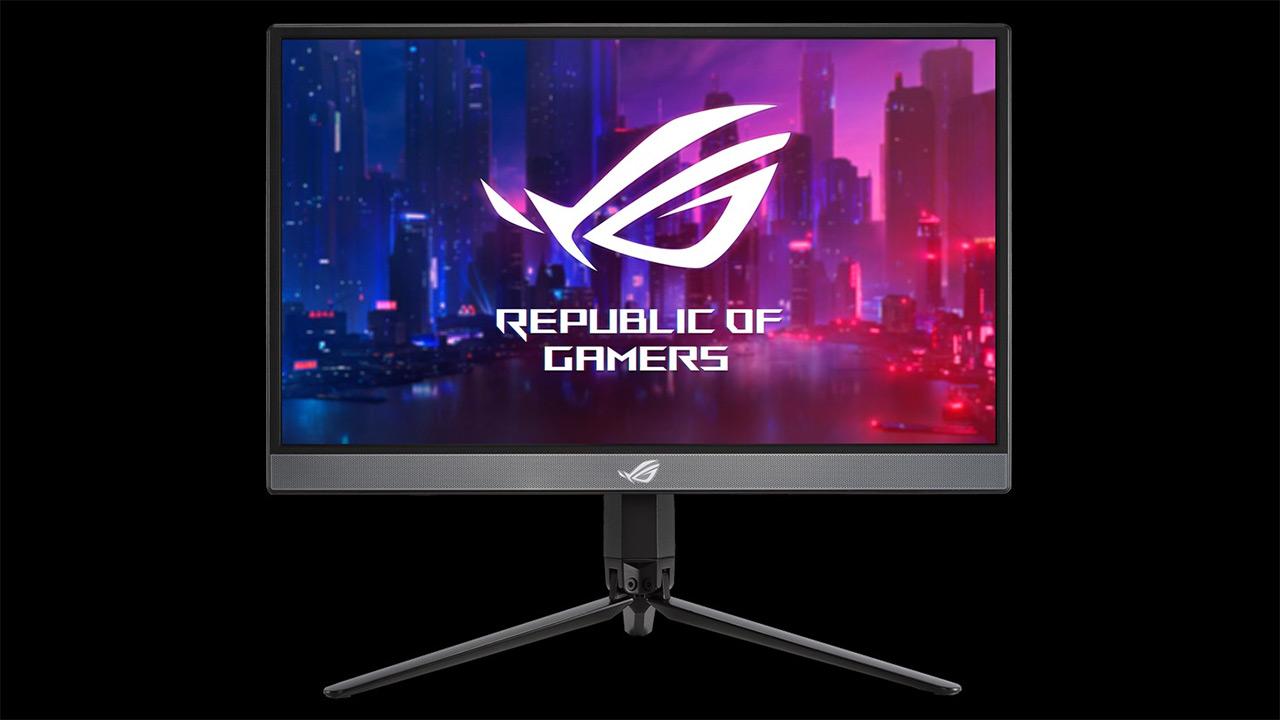 Asus ROG Strix XG17AHP - monitore eramangarria 240 Hz-ko freskatze-tasa duen euskarri desmuntagarriarekin