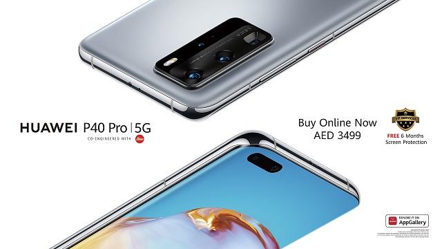 Huawei P40 Pro + laster dendetan sartuko da Europan