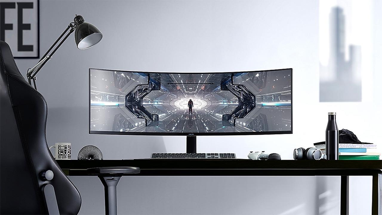 "Samsung Odyssey C49G95T - 49 ""240 Hz monitore zehaztapena DisplayHDR 1000 eta G-Sync bateragarriak"