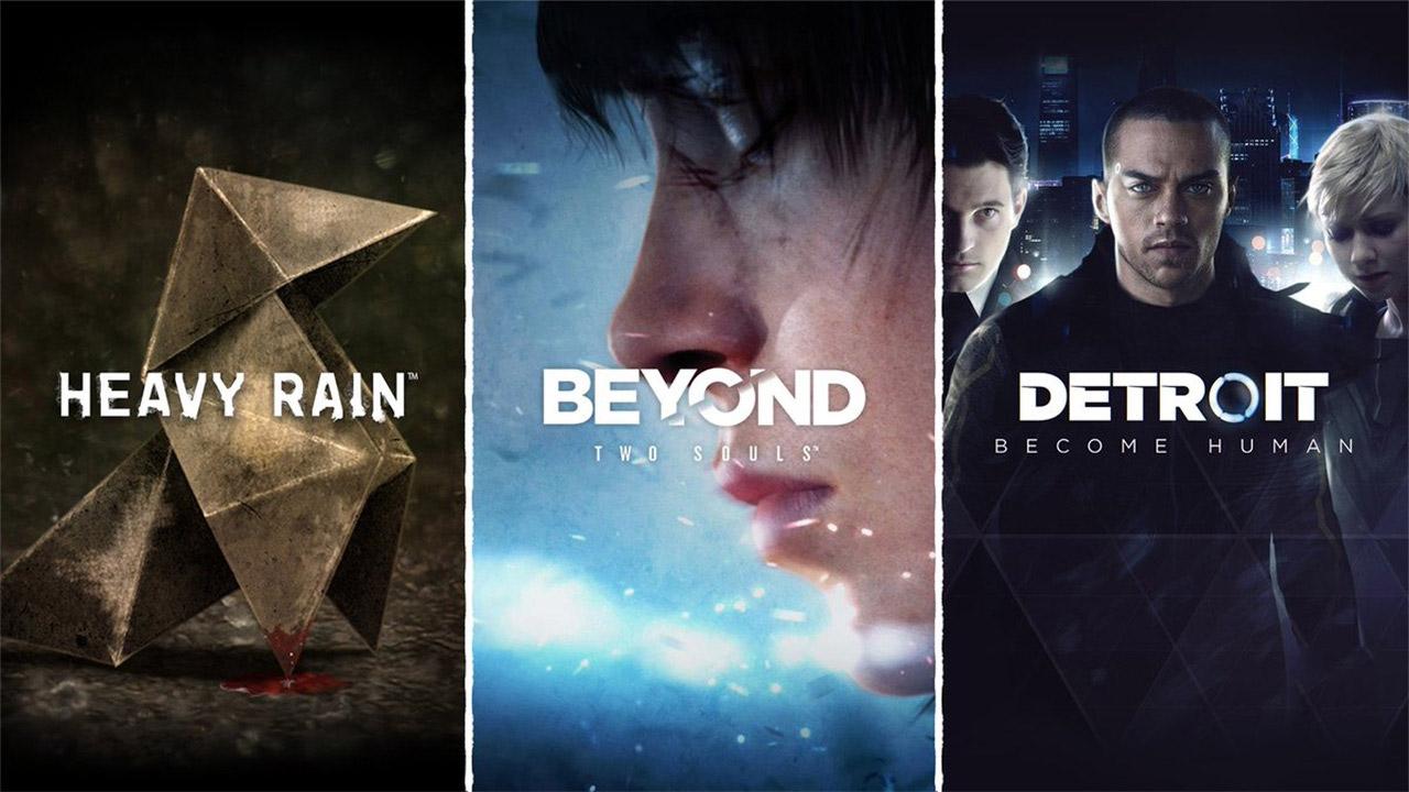 Heavy Rain, Beyond: Two Souls eta Detroit: Become Human estreinatuko dute Steam-en ekainaren 18an