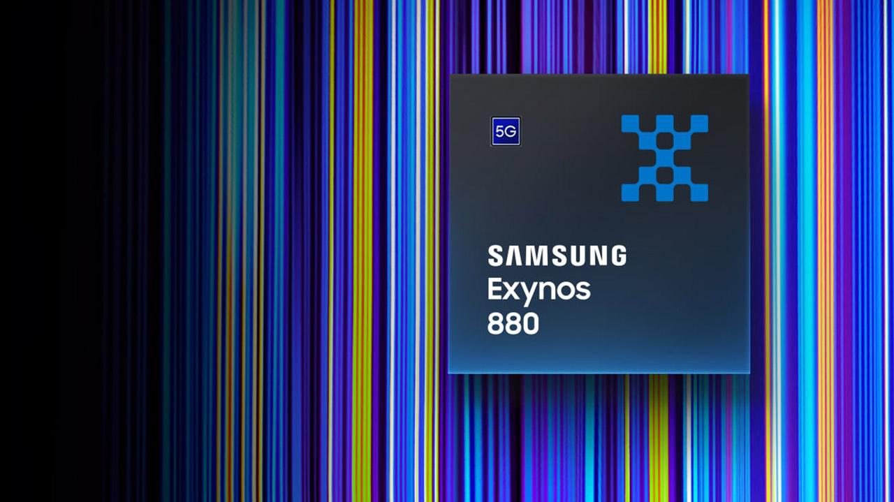 Samsung Exynos 880 ofizialki aurkeztu da 5G modemarekin