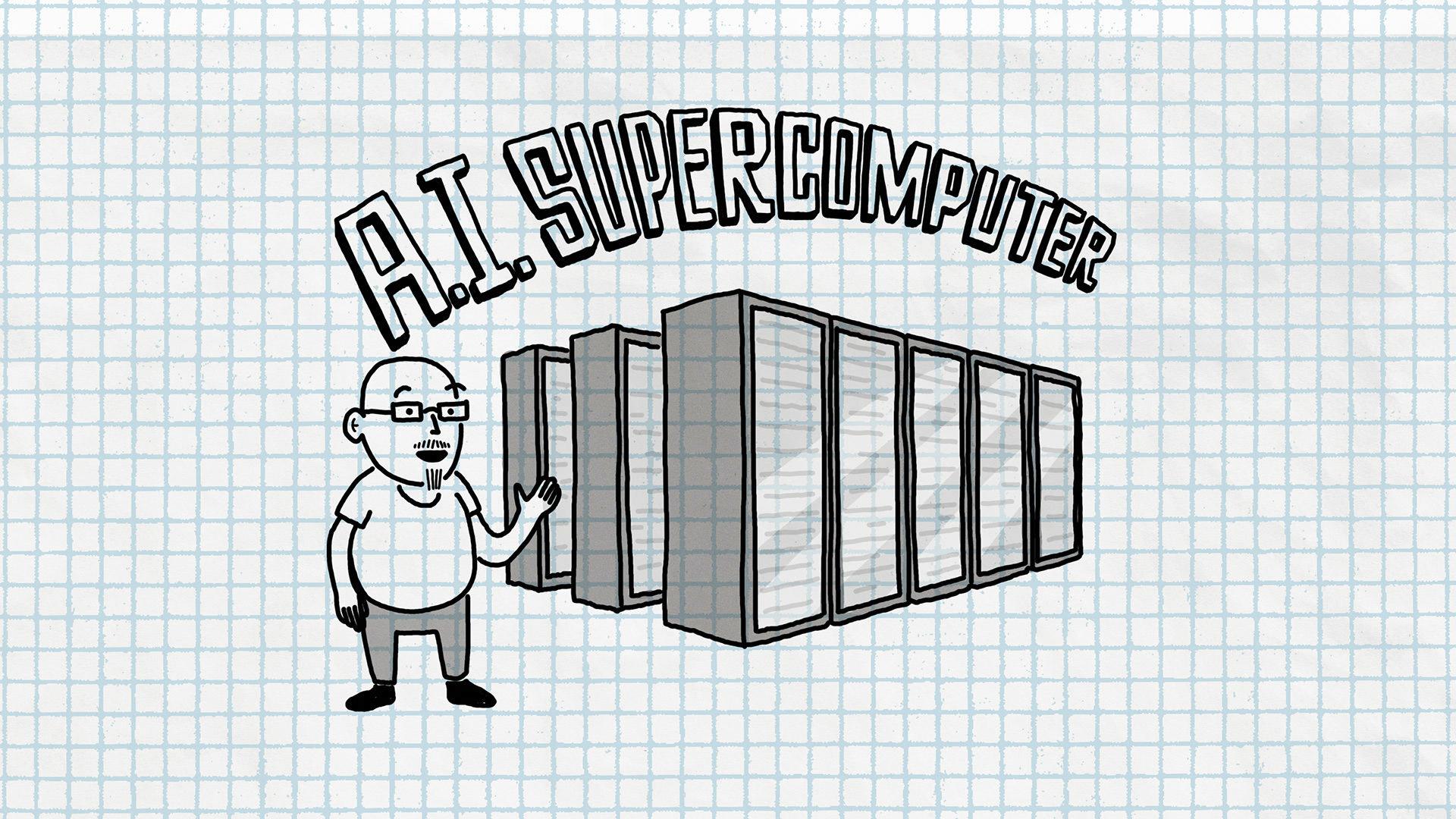 Microsoft-ek SI modelo handien makina ikasteko superordenagailu bat eraiki du