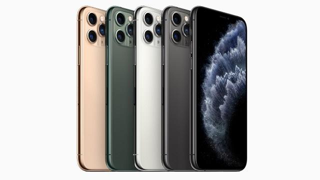 iPhone 12 - Apple Lau modeloko bereizmen handiko pantailak planifikatzen ditu