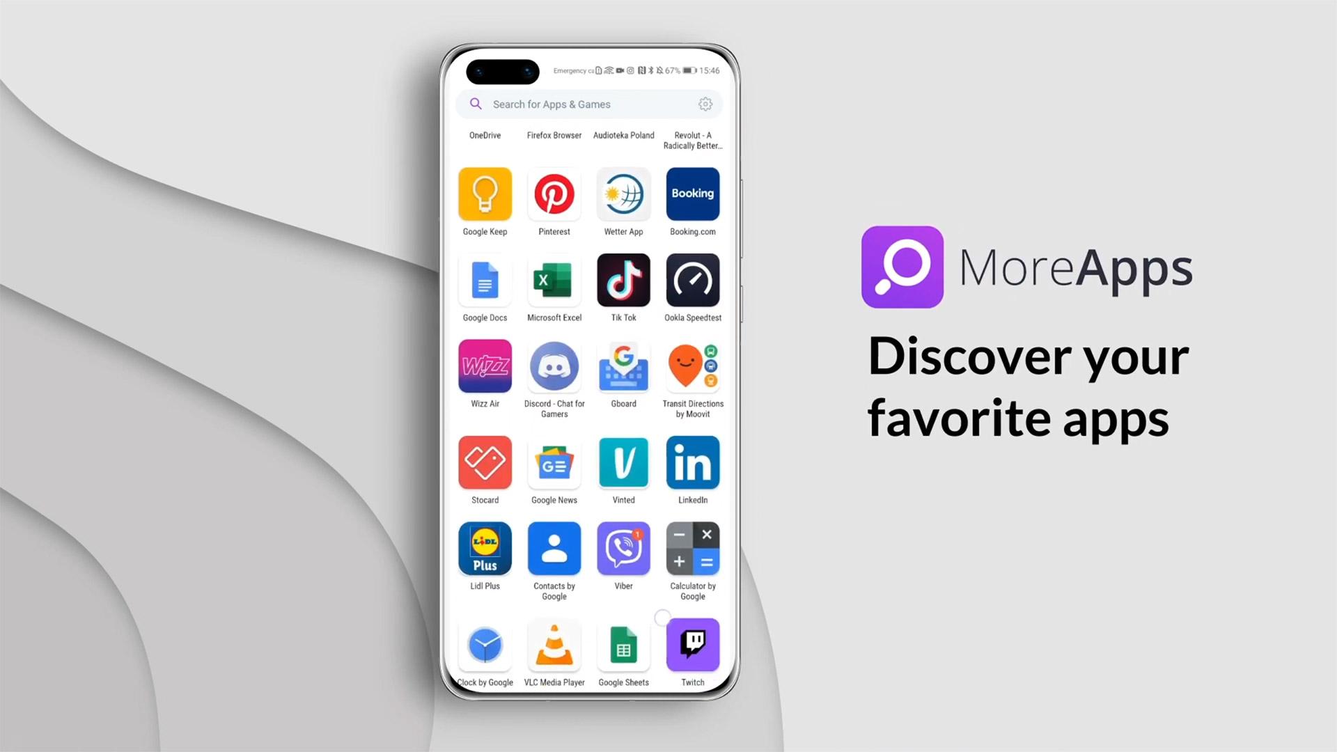 MoreApps-ek Huawei azken smartphoneetan falta diren aplikazioak konpontzen ditu