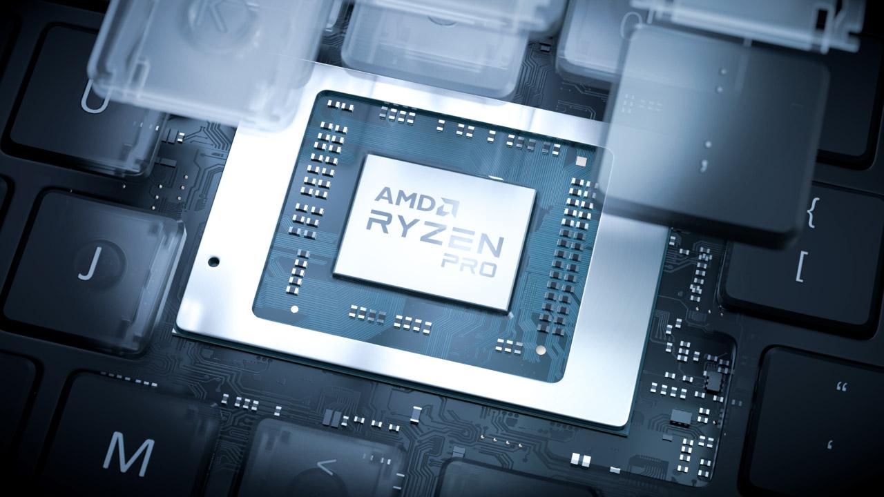 AMD Ryzen Pro 4000 - negozio ordenagailu eramangarrien prozesadore sorta berria