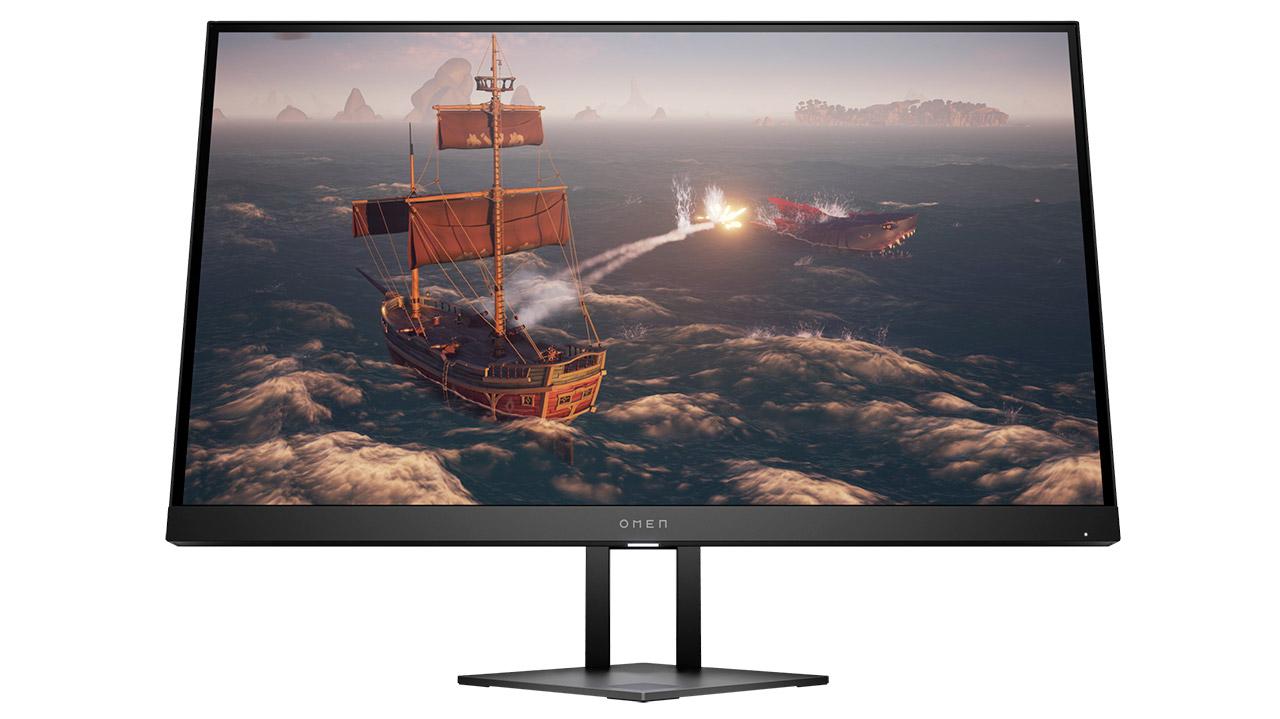 HP Omen 27i - GQ Sync-rekin bateragarria den WQHD 165 Hz monitorearekin
