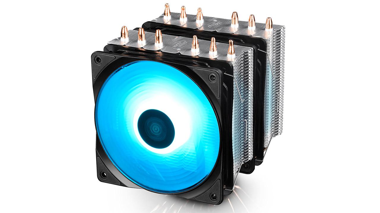 Deepcool Neptwin RGB - hozte sistemaren zehaztapena RGB LED argiztapenarekin