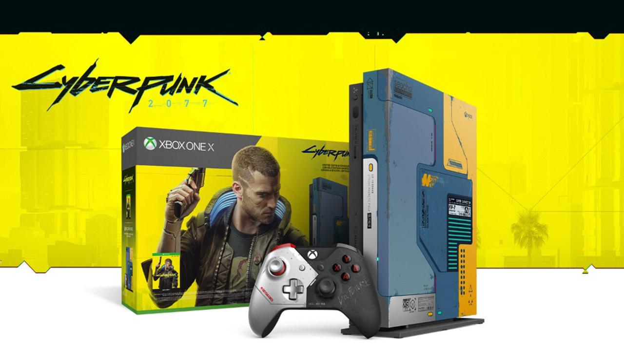 Xbox One X Cyberpunk 2077 Edizio mugatua - kontsolaren bertsio berezi bat oso kopuru mugatuan eskuragarri dago