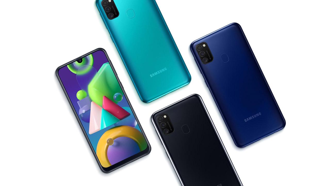 Samsung Galaxy M21 - 6000 mAh bateria duen smartphone bat Poloniako merkatura joango da