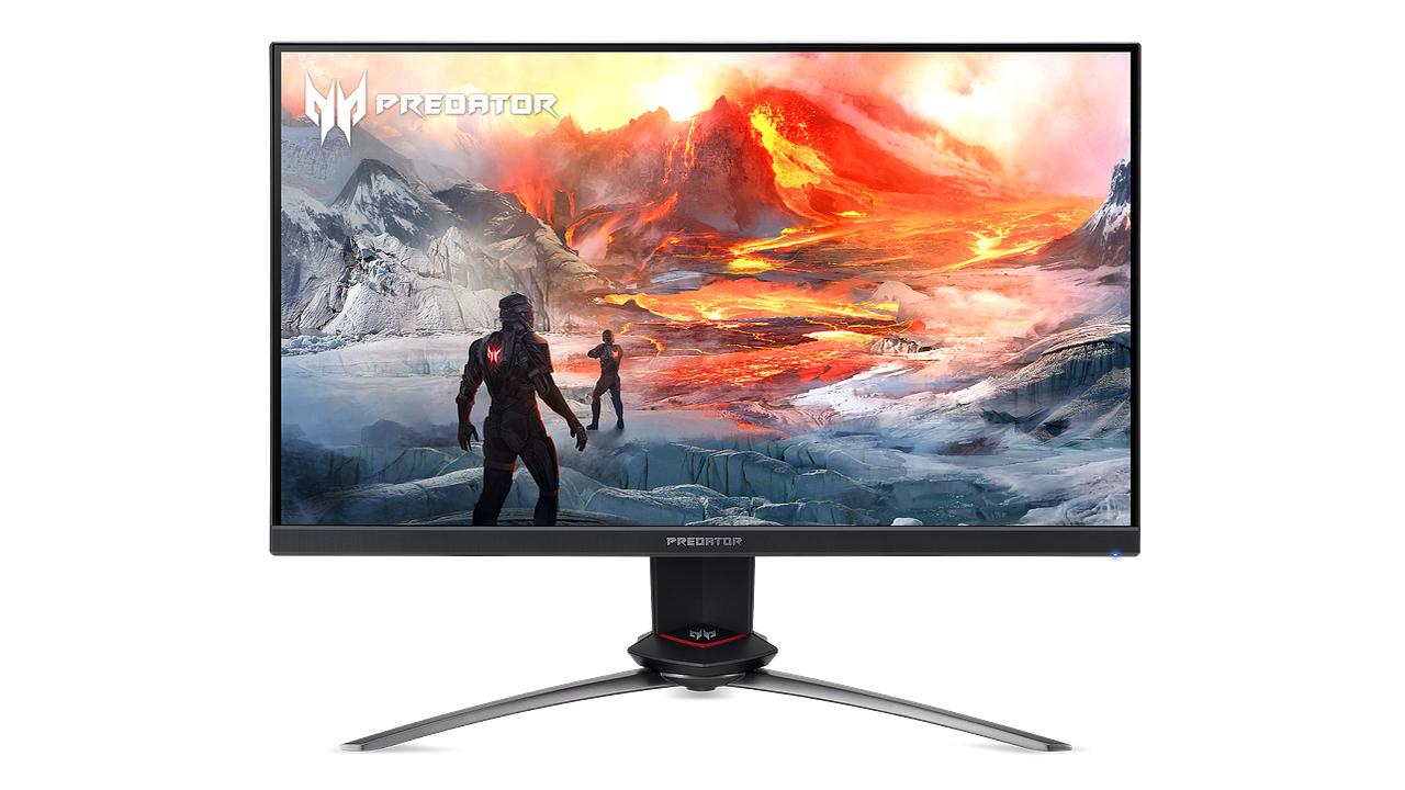 Acer Predator XB253QGX - 240 Hz-eko freskatze tasa eta G-Sync-rekin bateragarria den monitorea