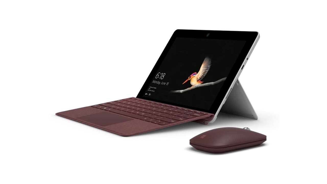 Microsoft Surface Go 2 - lehen zehaztapenari buruzko informazioa
