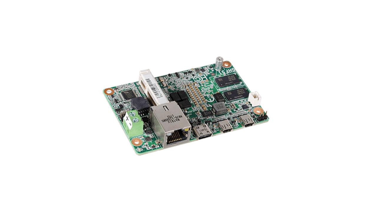 DFI GHF51 - Ryzen Embedded R1000 duen miniaturako ordenagailua