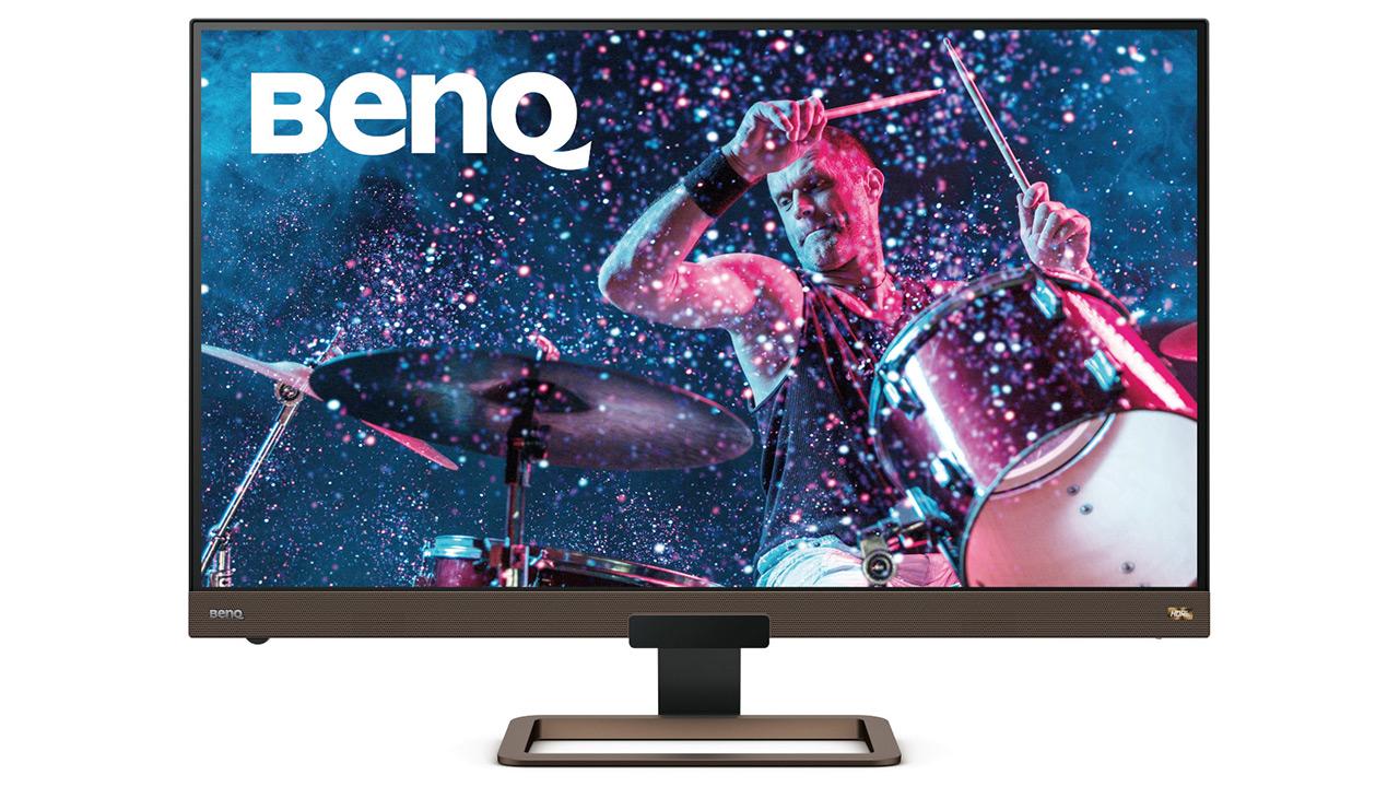 BenQ EW3280U - DisplayHDR 400 duen multimedia monitore handi baten zehaztapena