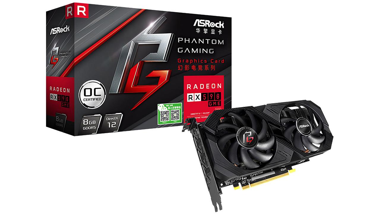 AMD Radeon RX 590 GME - Txinako merkatuarentzako beste Polaris bat