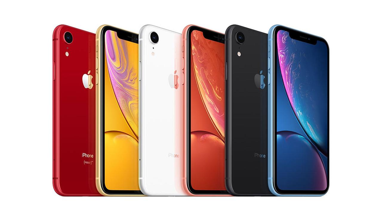 Apple iPhone XR 2019ko smartphone ezagunena