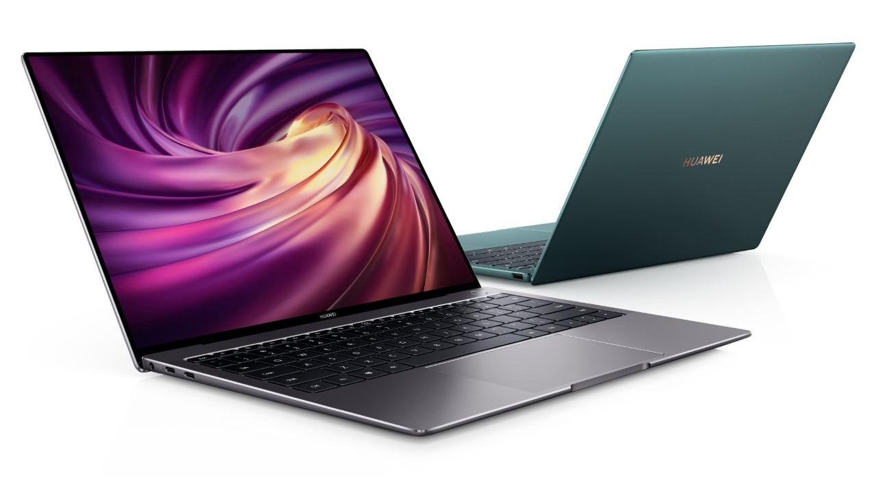 Huawei MateBook X Pro bertsio freskatuan Intel eta Nvidia txip berriekin