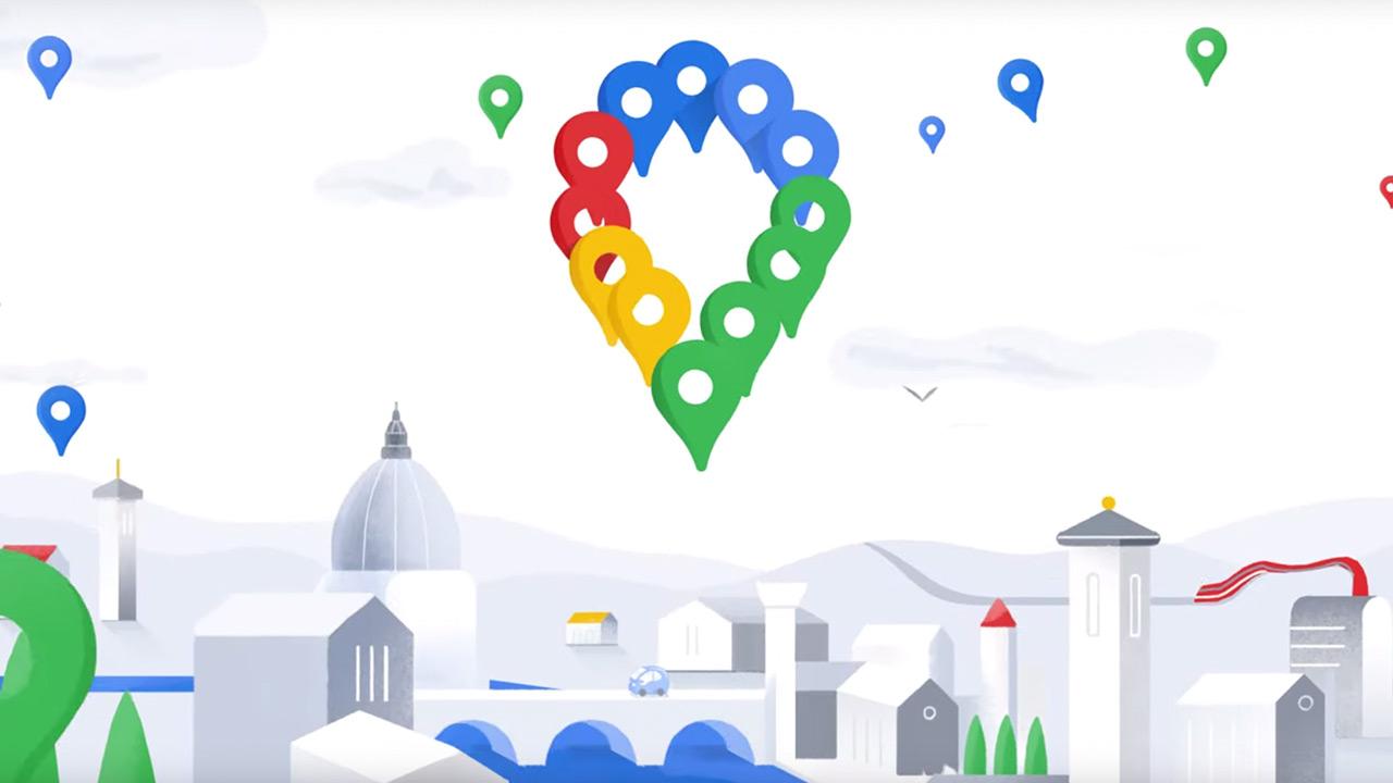 Itxura berria eta funtzioak ditu Google Maps-ek 15. urtebetetzea