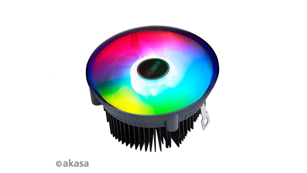Akasa Vegas Chroma - RGB LED argiztapenarekin duen hozte sistema sinplea