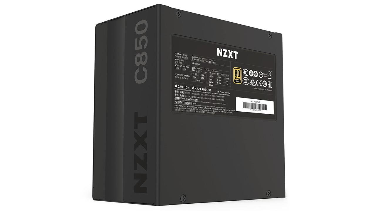 NZXT C850, C750 eta C650 - ordenagailu erreproduzitzaileentzako energia hornidura eraginkorrak