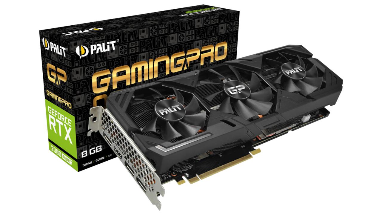 Palit GeForce RTX 2080 Super GP OC - hozte sistema masiboa duen txartel grafikoaren aurkezpena