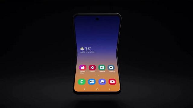 Samsung Galaxy Fold 2  Snapdragon 855 bertsioan oinarrituta egongo da