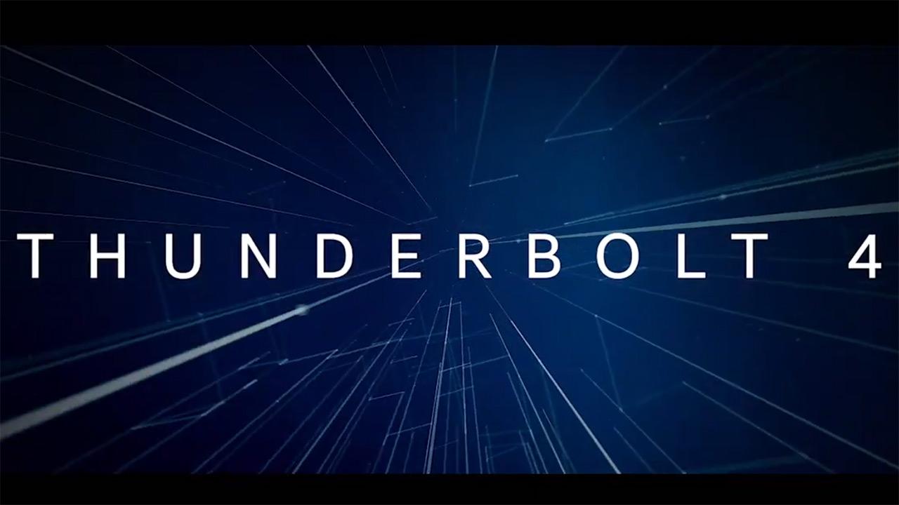 CES 2020: Thunderbolt 4 ez da Thunderbolt baino azkarragoa izango 3