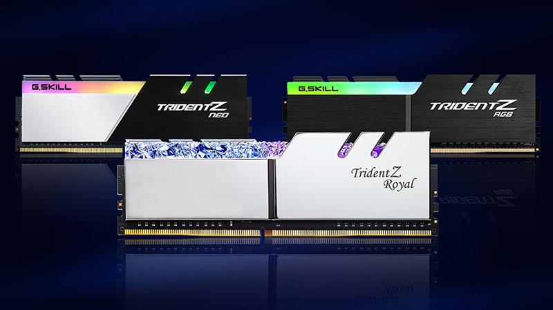 G.Skill-ek Trident Z memoria-multzo berriak aurkezten ditu 32 moduluekin GB