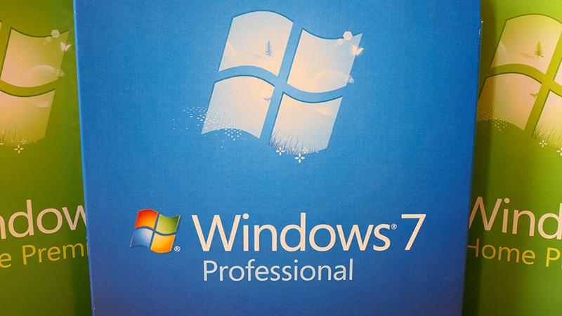 Windows 7  Laguntzaren amaierari buruzko pantaila osoko mezu bat bistaratuko da