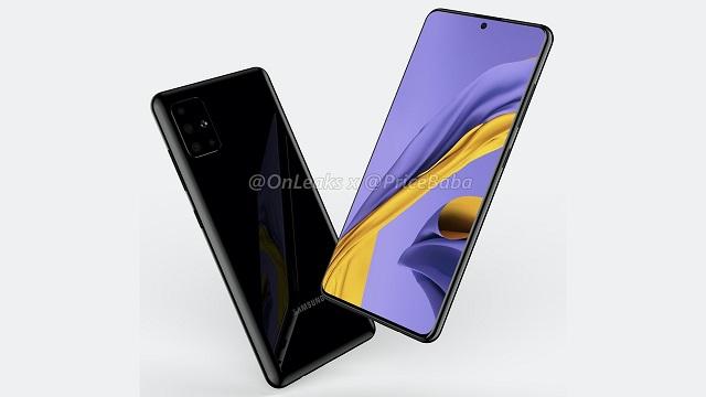 Samsung Galaxy A51 - itxura eta zehaztapen teknikoak ezagutzen ditugu