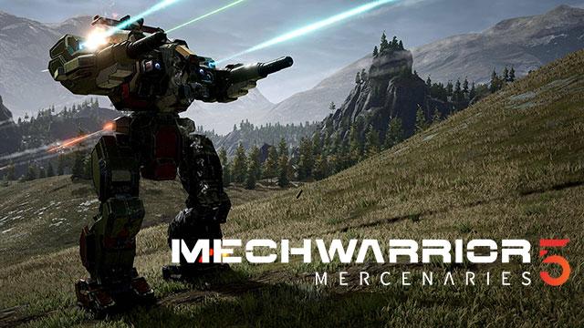 MechWarrior 5: Arraun arrastorik gabeko mertzenarioak eta estreinaldirako DLSS laguntza