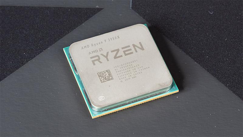 AMD Ryzen 9 3950X salgai dago