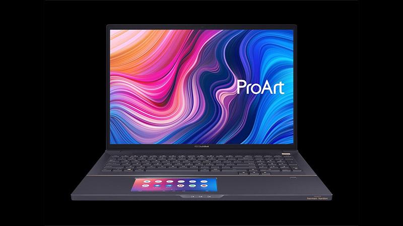 Asus ProArt StudioBook Pro X - geltokia Xeon eta Quadro RTX 5000 txiparekin