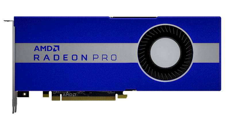 AMD Radeon Pro W5700 - lantokietako lehen Navi txartela