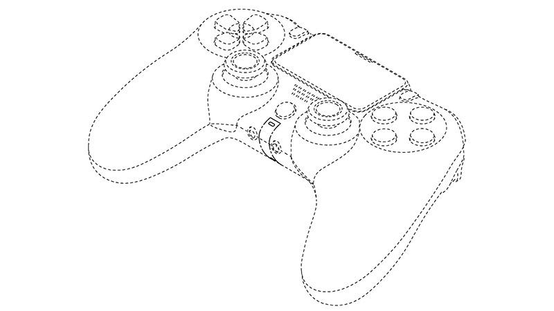 Play Station 5: patenteak DualShock kontroladorearen itxura agerian uzten du 5