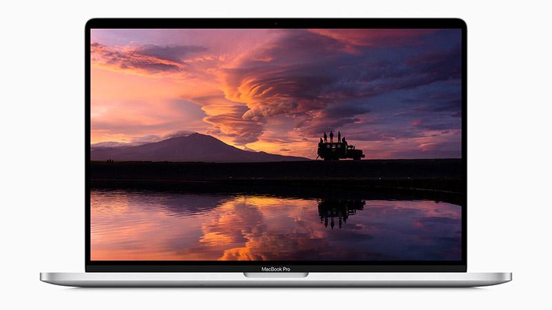 Apple MacBook Pro 16 - koadernoaren zehaztapen ofiziala