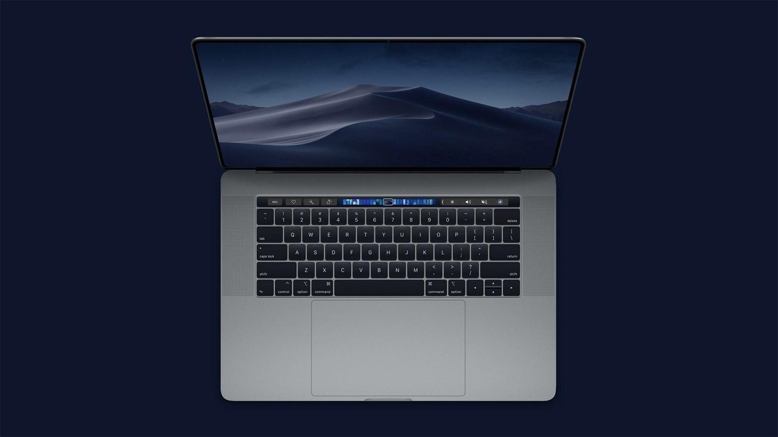 Apple MacBook Pro 16 Radeon Pro 5500M-rekin 8 GB  eta Geekbench datu-basean aurkitutako Intel Core i9-9980HK
