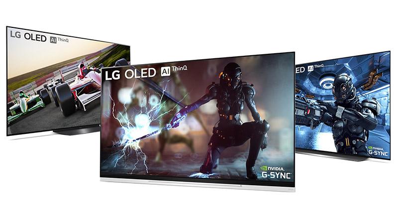 LG OLED telebistak G-Sync laguntza gehitzen duen eguneratze bat