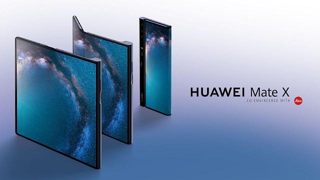 Huawei Mate X merkatuko estreinaldira gerturatzen ari da
